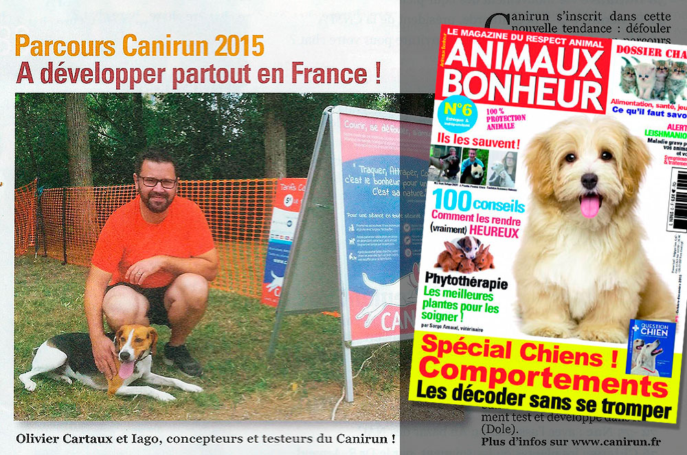 Magazine animaux bonheur